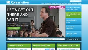 Conservative homepage