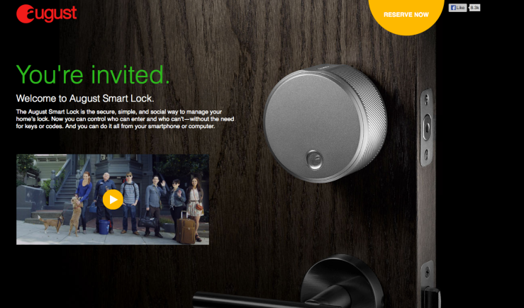 August Smart Lock - screenshot